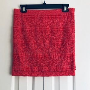 Coral Skirt